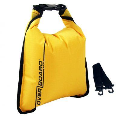 Overboard суха торба 5 л, жълта