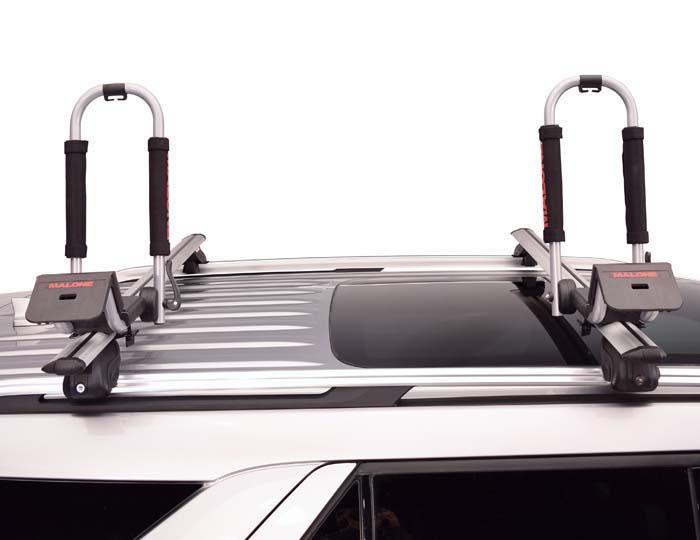 багажник за каяк Downloader - на автомобил