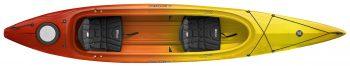 double kayak Prodigy II sunset