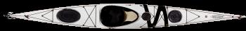 морски каяк Bayspirit бял
