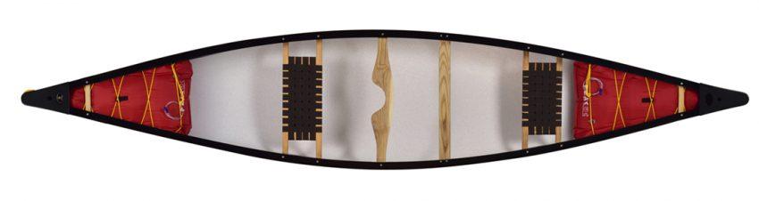 canoe Ranger 149 with flotation airbags