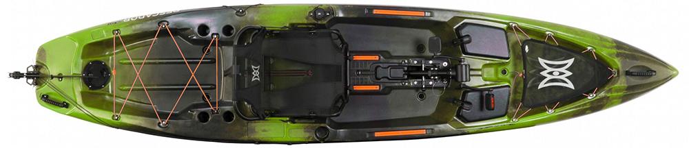 kayak Prescador Pilot 12