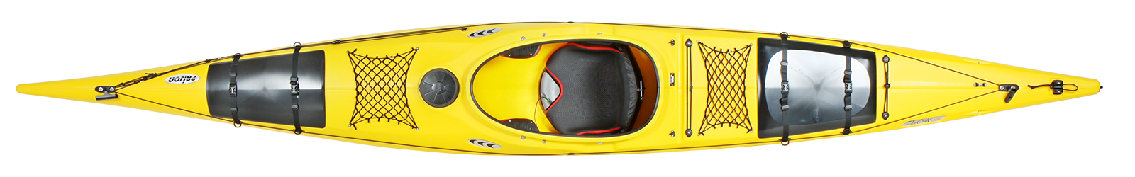 туристически каяк Touryak 500 жълт