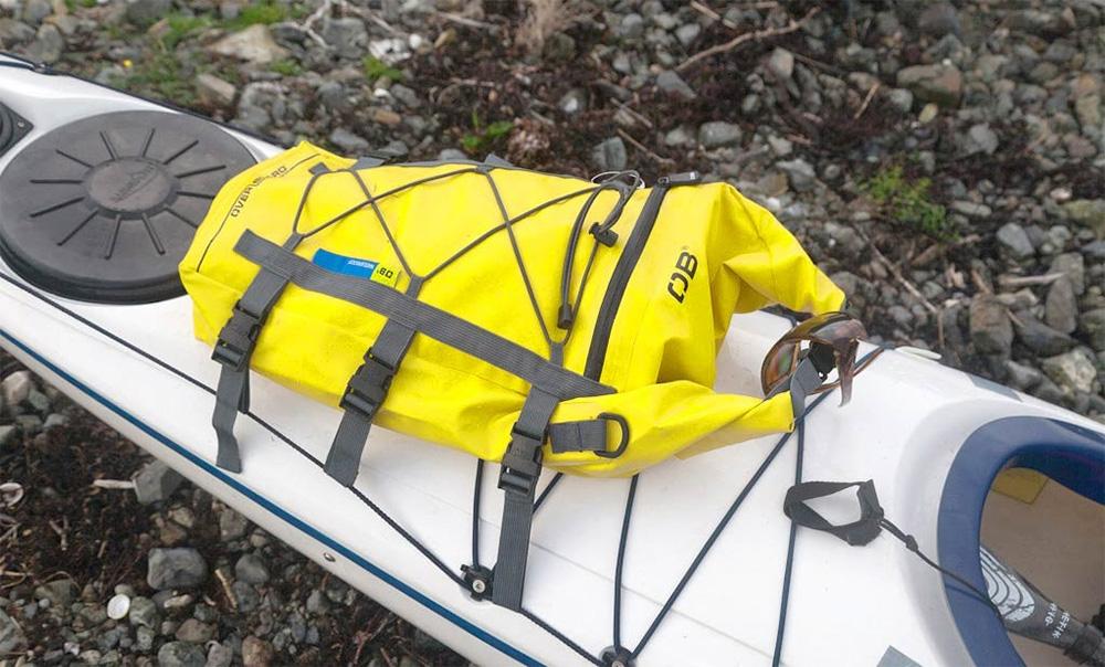 суха торба за палуба на каяк