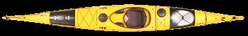 туристически каяк Seatron жълт
