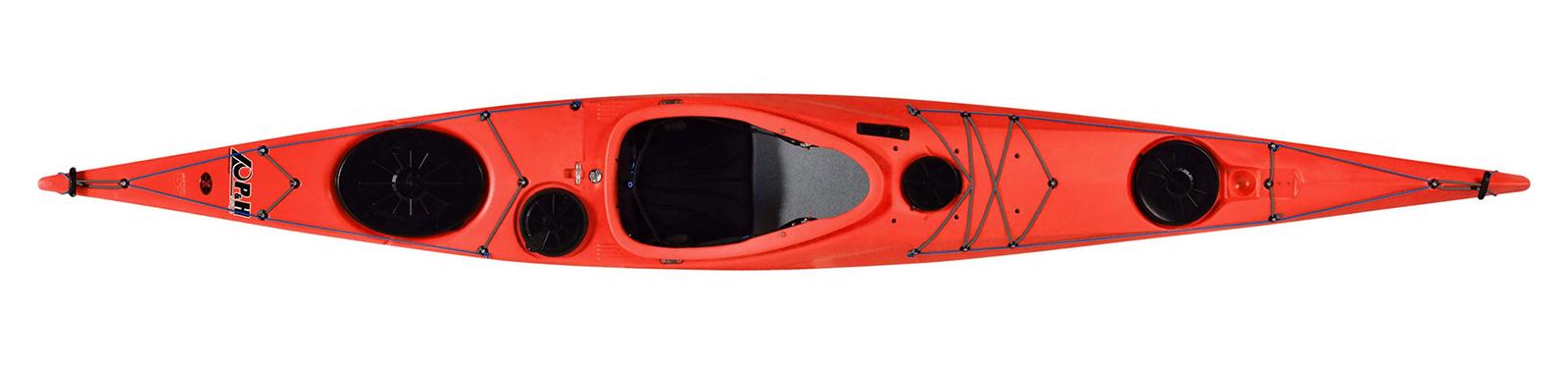 каяк Delphin 150 CLX червен
