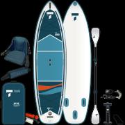 надуваем SUP Beech 10'6'' V-kayak комплект