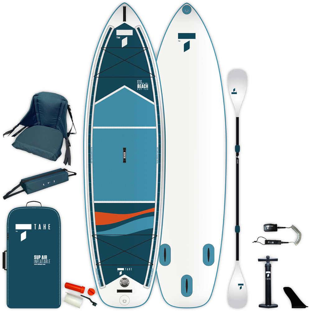inflatable SUP Beech 10'6'' V-kayak - pack
