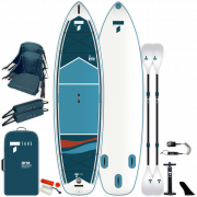 надуваем SUP Beech 11'6'' V-kayak комплект