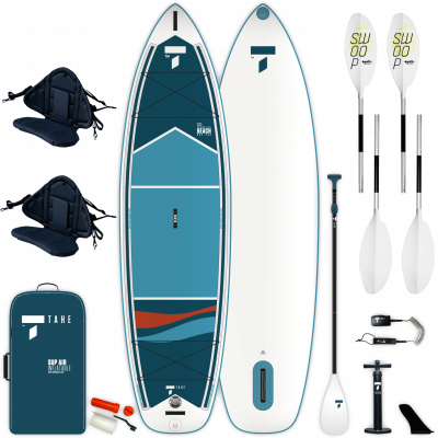 inflatable SUP Beech 11'6'' V-kayak pack WH
